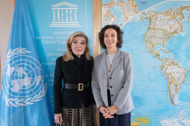 Μαριάννα Βαρδινογιάννη Unesco