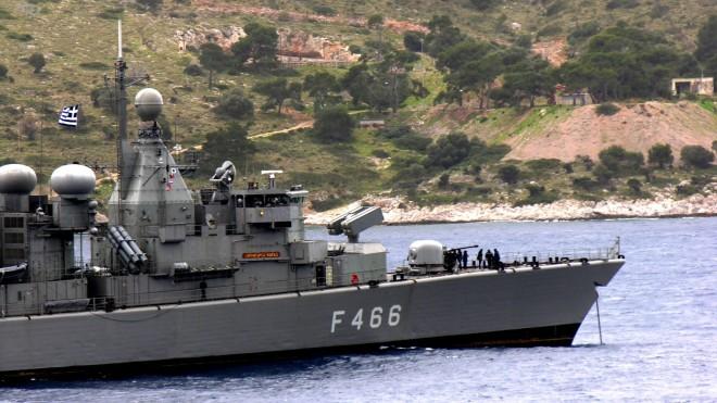 Η φρεγάτα τουΠολεμικού μας Ναυτικού«Νικηφόρος Φωκάς»