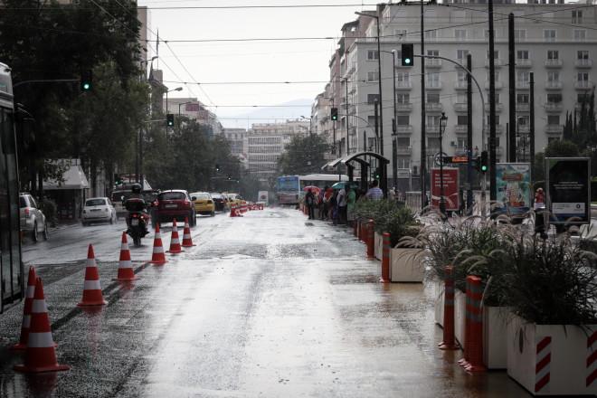 Καλοκαιρινό μπουρίνι στην Αθήνα