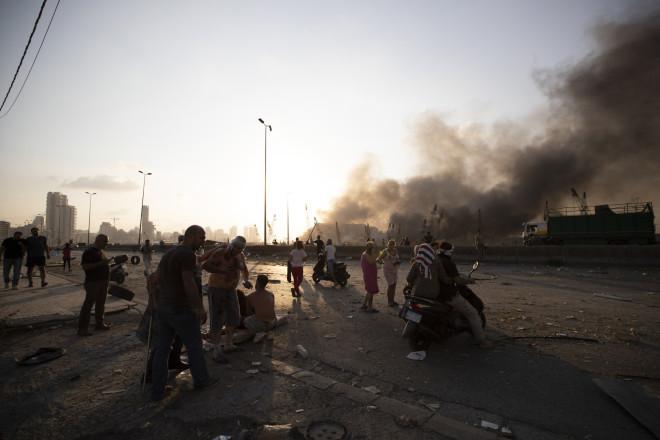 Ισχυρές εκρήξεις στη Βηρυτό