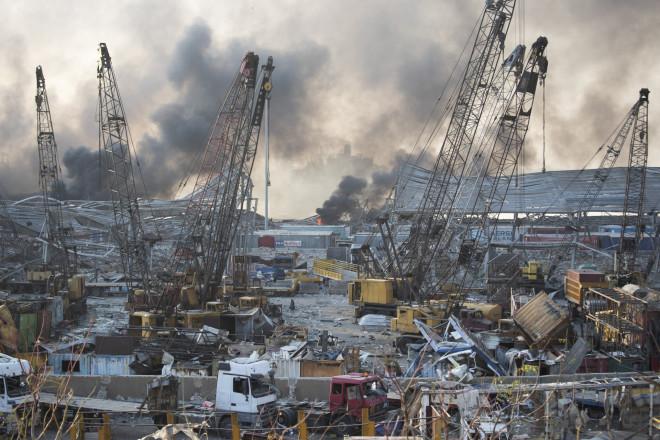 Εκρήξεις στη Βηρυτό