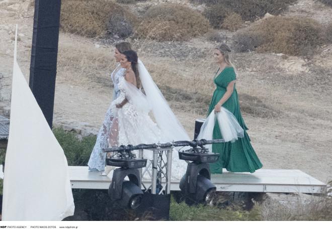 Γάμος - Εριέττα Κούρκουλου – Βύρων Βασιλειάδης