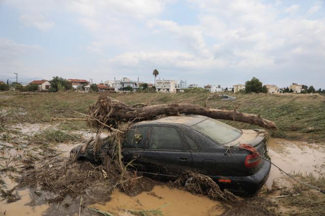 Εύβοια Πλημμύρες 1