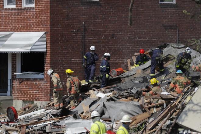 Χάος στη Βαλτιμόρη μετά την ισχυρή έκρηξη σε συνοικία