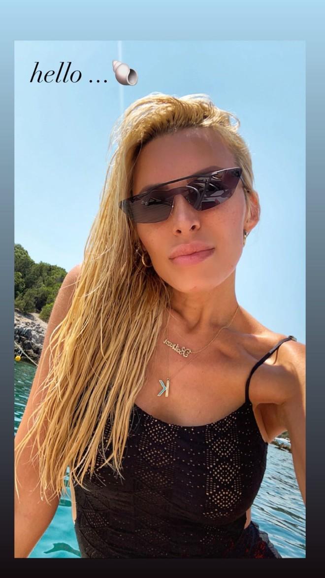 Κατερίνα Καινούργιου Ονειρεμένο tour στο Ιόνιο με τον αγαπημένο της