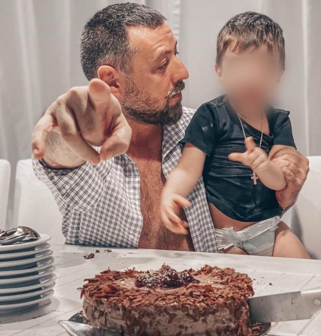 Αγγελική Δαλιάνη Ευτυχισμένα οικογενειακά γενέθλια στη Μύκονο