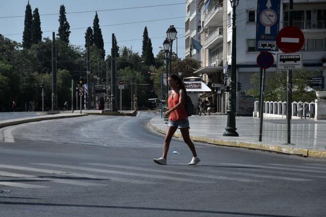 Δεκαπενταύγουστος στην έρημη Αθήνα