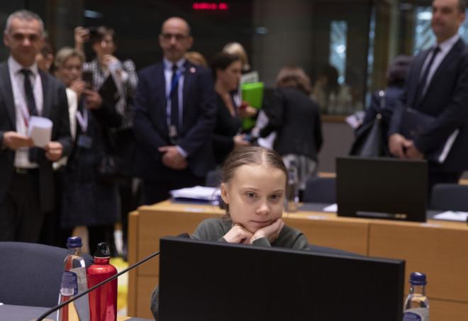 5 Mαρτίου 2020: ΗΓκρέτα Τούνμπεργκ στη Σύνοδο Ευρωπαίων Ηγετών για το Περιβάλλλον, στις Βρυξέλλες.