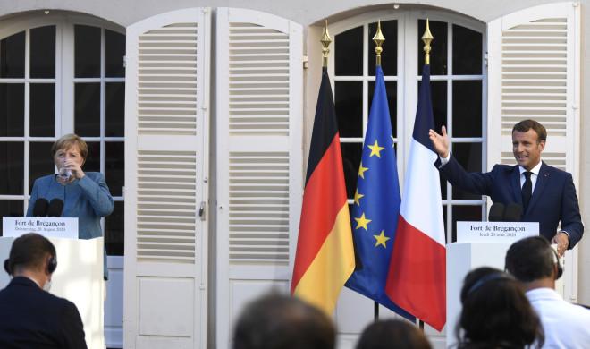 γαλλική θερινή προεδρική κατοικία στο Φορ ντε Μπρεγκανσόν