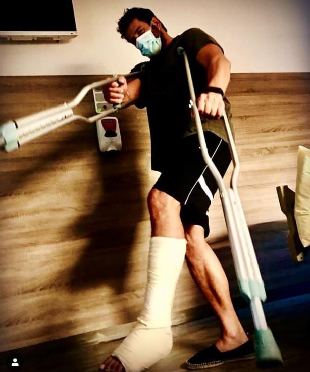 Ατύχημα για τον Αλέξη Γεωργούλη Υποβλήθηκε σε χειρουργείο