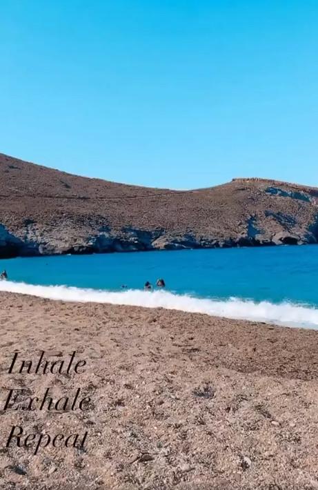 Παντζόπουλος Το Βίντεο Από Την Παραλία Στα Άχλα