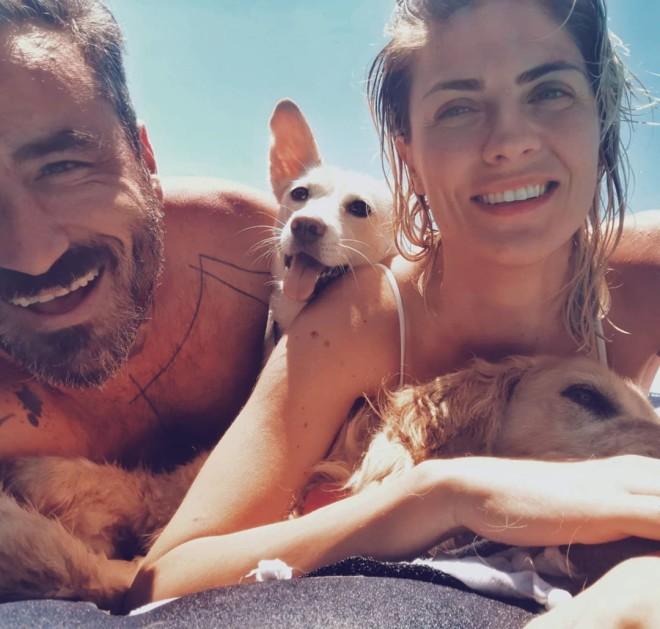 Γιώργος Μαυρίδης Ποζάρει για πρώτη φορά με την πανέμορφη σύντροφό του Κρίστη
