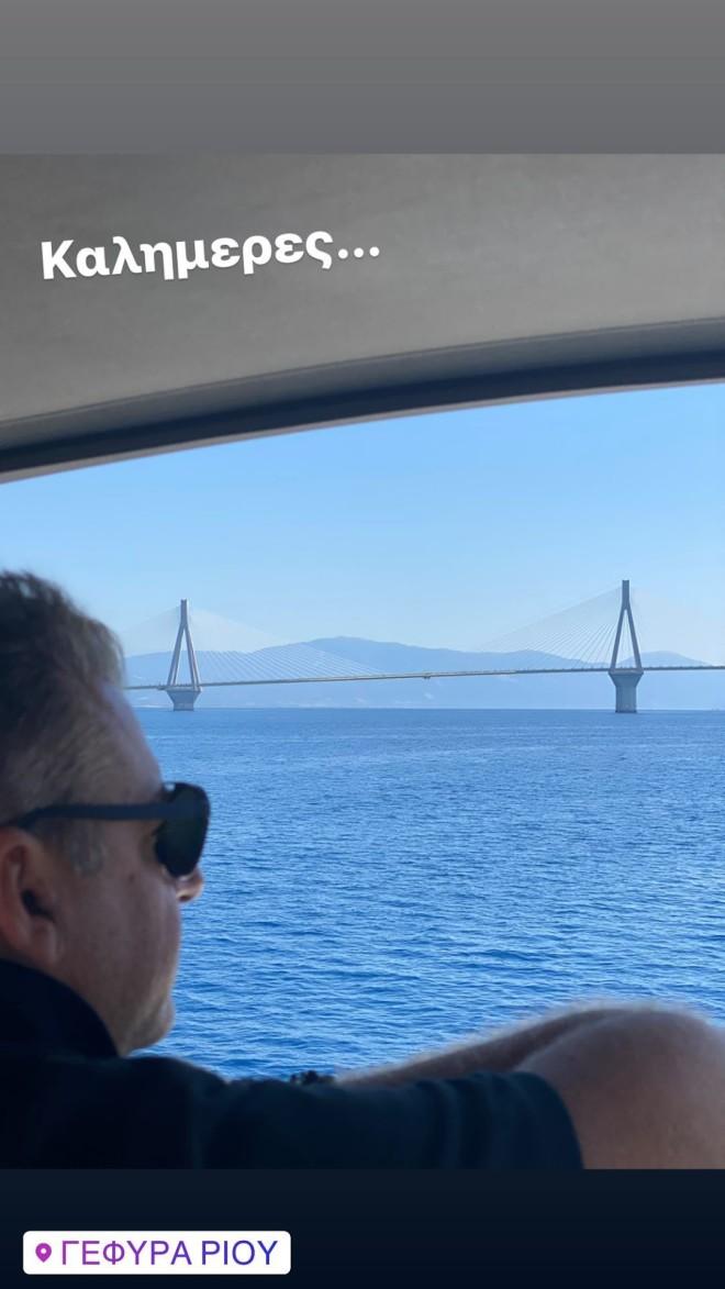 Γιώργος Λιάγκας: Βουτιά... στα βαθιά νερά της Κορίνθου