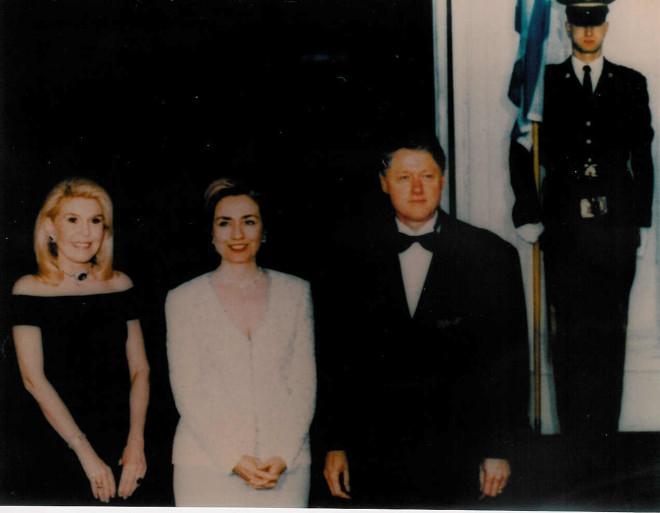 Φωτογραφία αρχείου από την επίσκεψη της Μαριάννας Β. Βαρδινογιάννη στον Λευκό Οίκο