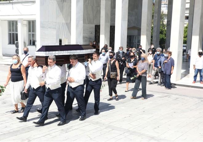Κηδεία Γιώργου Βούρου