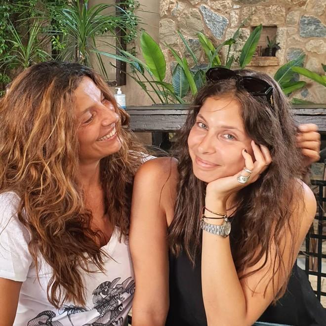 Πόπη Τσαπανίδου Δημοσίευσε φωτογραφία με την πανέμορφη κόρη της