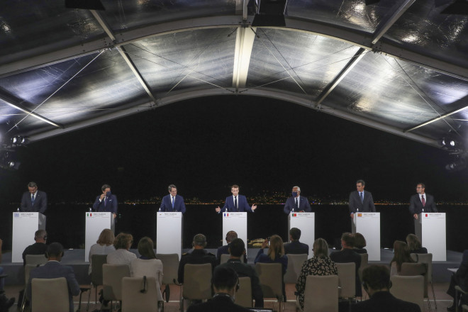 Εικόνα από την ευρωμεσογειακή διάσκεψηMed7