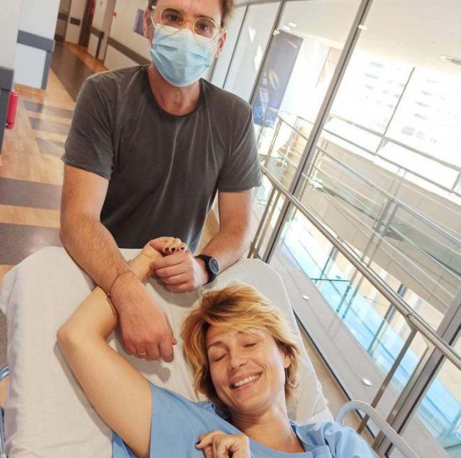 Ευδοκία Ρουμελιώτη Στο νοσοκομείο η ηθοποιός