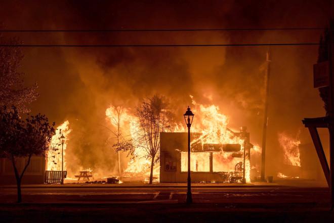 Φωτιές ΗΠΑ