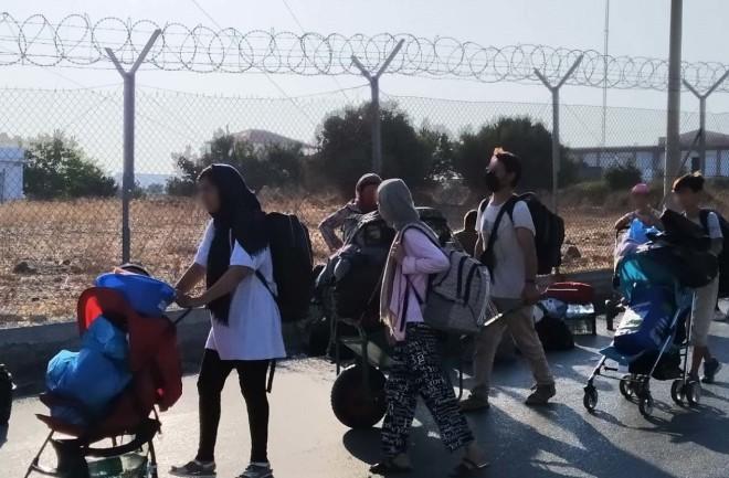 Λέσβος μετανάστες 3