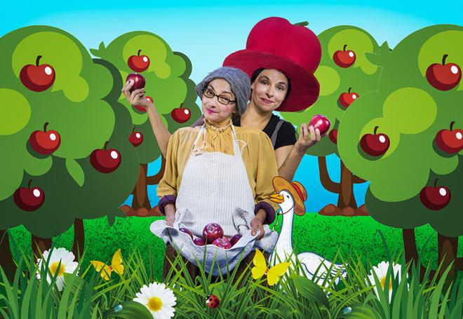 Θέατρο: Μήλα Ζάχαρη Κανέλα