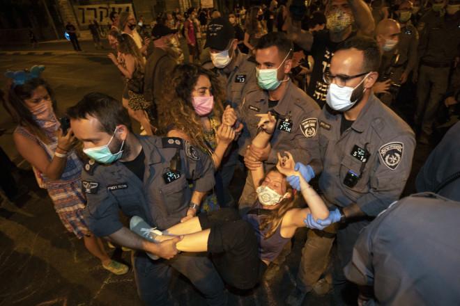Διαδηλωτές συγκρούστηκαν με την αστυνομία στην Ιερουσαλήμ
