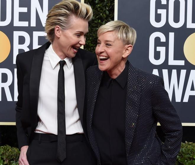 Portia de Rossi Ellen DeGeneres
