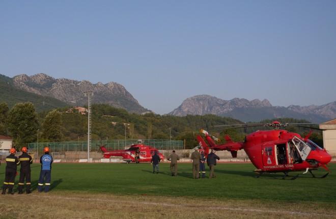 ελικόπτερο απεγκλωβισμός 1