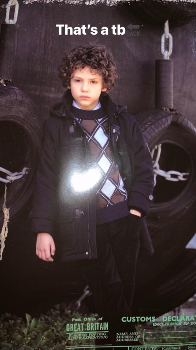 GNTM 3 Κωνσταντίνος Τσεντολίνι Δείτε επαγγελματικές φώτο από την παιδική του ηλικία μοντέλο από μικρός