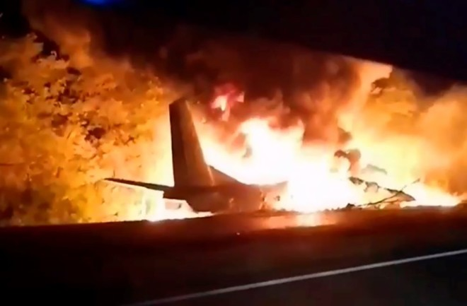συντριβή αεροσκάφους Ουκρανία