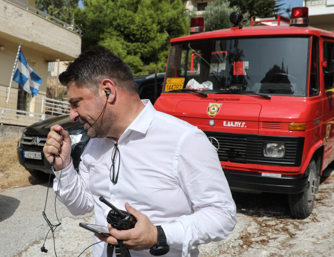 Εκτάκτως ο υφυπουργός Πολιτικής Προστασίας Νίκος Χαρδαλιάς στην Θήβα