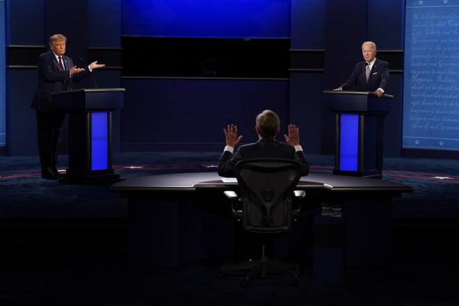 Debate Τραμπ Μπάιντεν 1