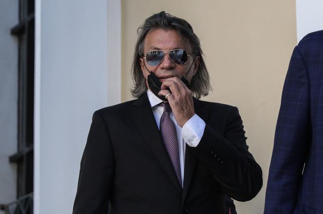 Ο Ηλίας Ψινάκης κατά την απολογία του στον ανακριτή