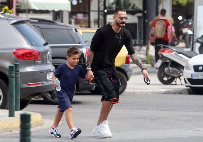 Σάββας Γκέντσογλου με τον γιο του, Βασίλη