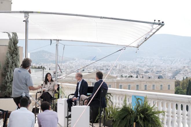 Συζήτηση Κυριάκου Μητσοτάκη με τον ιστορικό και συγγραφέα Yuval Noah Harari