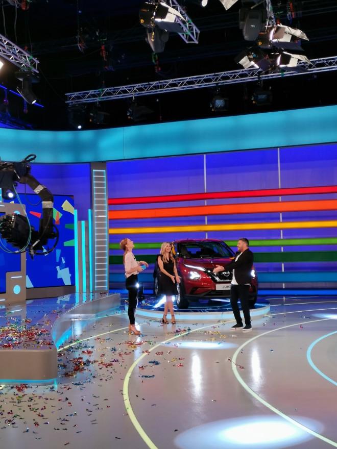 nissan juke τροχός της τύχης αυτοκίνητο κέρδισε παίκτρια παίκτης