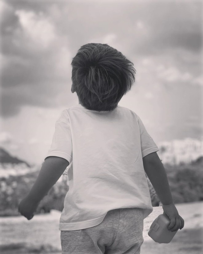 Σία Κοσιώνη γιος γενέθλια μικρός Δήμος Μπακογιάννης