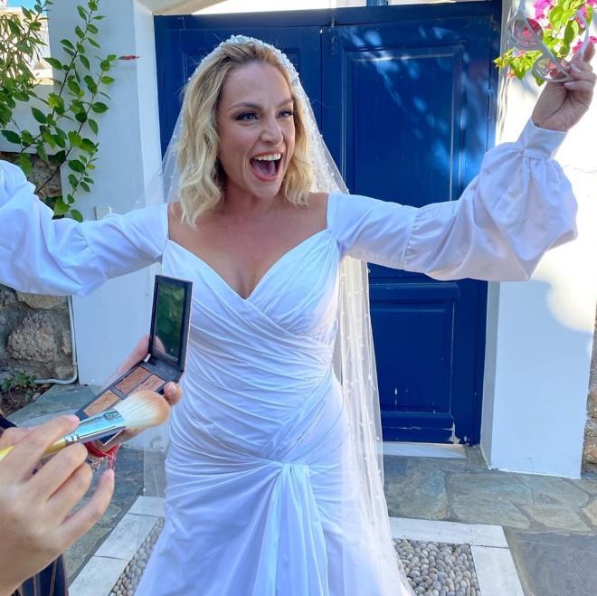 Ελεωνόρα Ζουγανέλη-γάμος-Σπέτσες