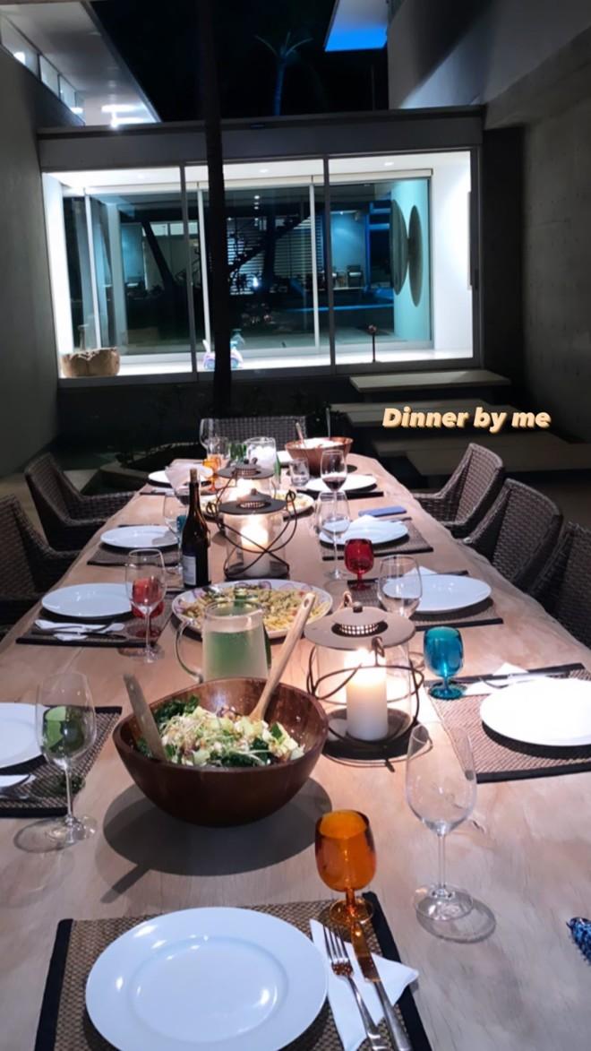 Αμαλία Κωστοπούλου δείπνο Instagram Αμερική