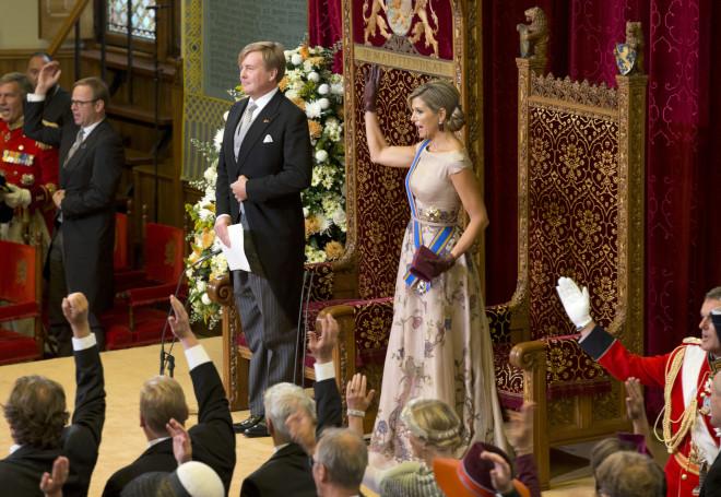 Ο βασιλιάς Γουλιέλμος - Αλέξανδρος και η βασίλισσα Μάξιμα