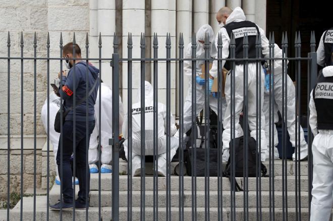 Η εκκλησία όπου έγινε η επίθεση στη Νίκαια