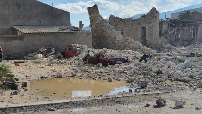 σεισμός Σάμος - ζημιές