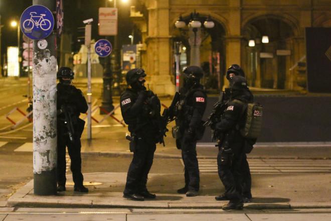 Βιέννη επίθεση αστυνομικοί