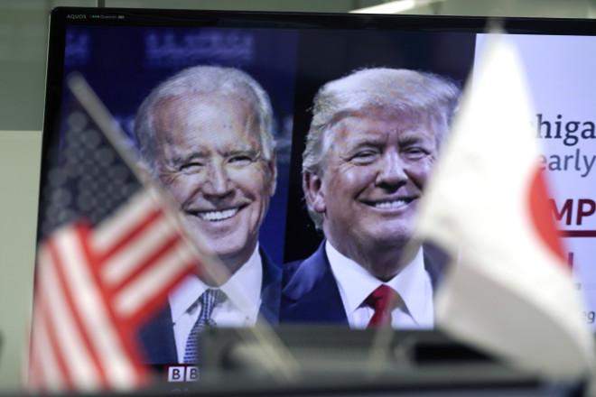 Οι δύο υποψήφιοι για την αμερικανική προεδρία, Τζο Μπάιντεν και Ντόναλντ Τραμπ