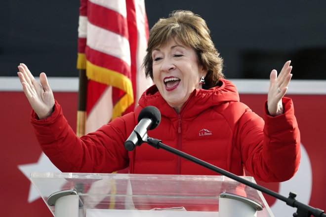 αμερικανικές εκλογές 2020 - Σούζαν Κόλινς