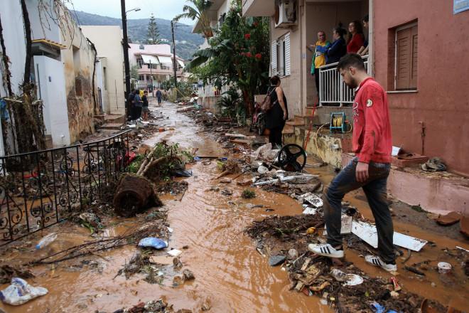 καταστροφές στην Κρήτη