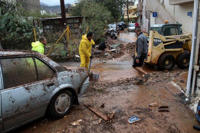 Τεράστιες οι καταστροφές στην Κρήτη