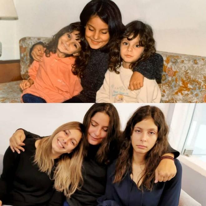Πόπη Τσαπανίδου Οι κόρες της πριν 25 χρόνια vs οι κόρες της σήμερα