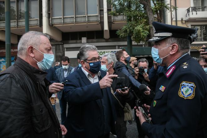 Διαπραγματεύσεις Κουτσούμπα με αστυνομικούς