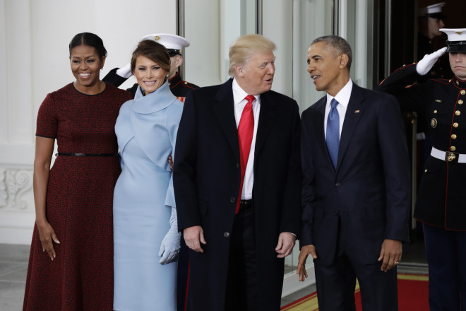 Τραμπ - Ομπάμα